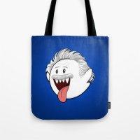 Boo Einstein Tote Bag