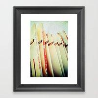 Surf Wax America Framed Art Print
