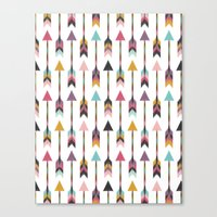Bohemian Arrows-Pattern Canvas Print
