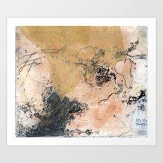 Traces (I) Art Print