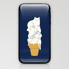 Meowlting iPhone & iPod Skin