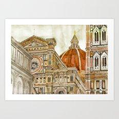 Santa Maria del Fiore Art Print