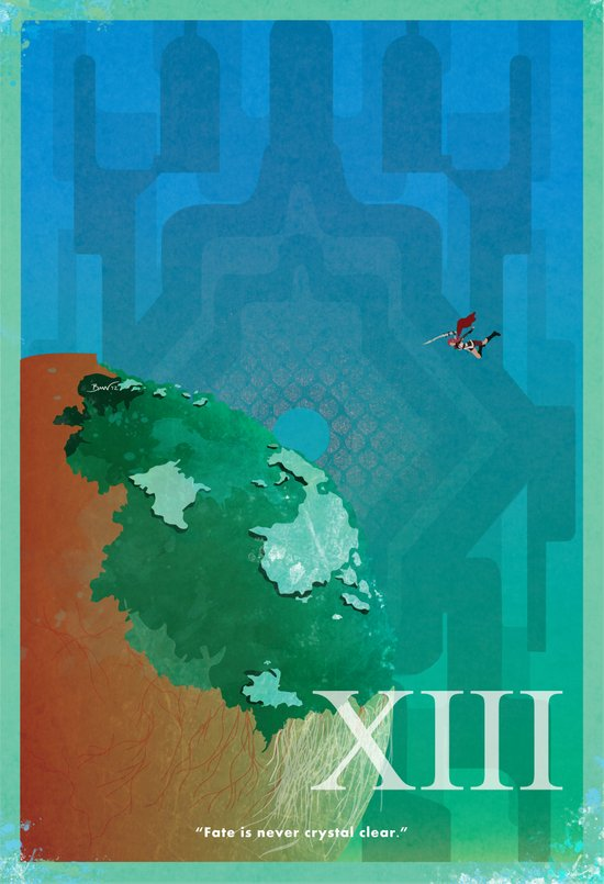 Vintage FF Poster XIII Canvas Print