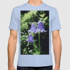 bellflower Mens Fitted Tee Athletic Blue SMALL