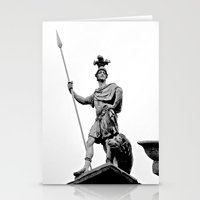 Guarding Dublin Castle Stationery Cards