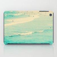 beach sunday iPad Case