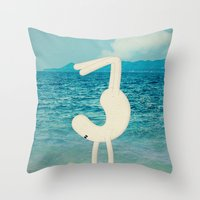 A C R O B A T A P U G L … Throw Pillow