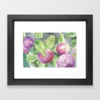 Grape Framed Art Print
