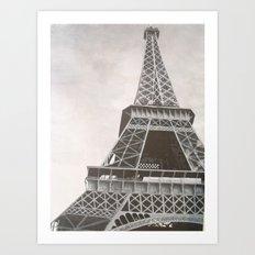 Untitled (Eiffel Tower) Art Print