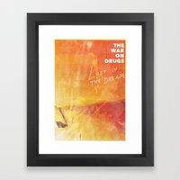 The War On Drugs - Lost … Framed Art Print