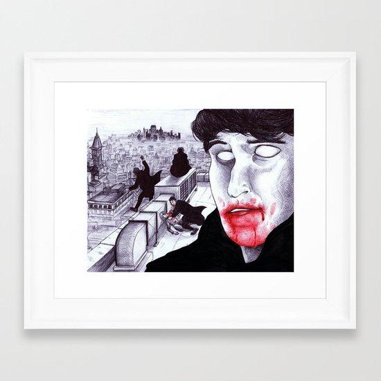 """Modern Vampires of the City"" by Cap Blackard Framed Art Print"