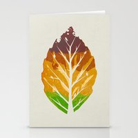 Leaf Cycle Stationery Cards