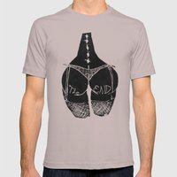 The End Mens Fitted Tee Cinder SMALL