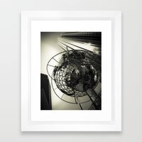 Columbus Circle Framed Art Print