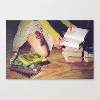 Bookish 04 Canvas Print