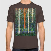 Field Of Grass Mens Fitted Tee Brown SMALL