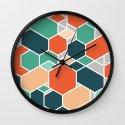Hex P Wall Clock