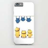 iPhone Cases featuring MINIONS LIFE: TOO HOT by Ylenia Pizzetti