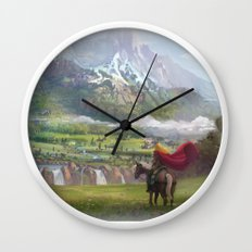 EPic vista  Wall Clock
