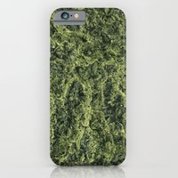 iPhone & iPod Case featuring Plant Matter Pattern by kathomsart
