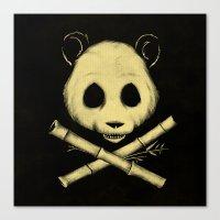The Jolly Panda Canvas Print
