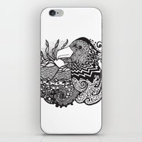 Conscious State Of Dreaming BW iPhone & iPod Skin
