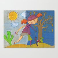 Summer - Autumn Canvas Print