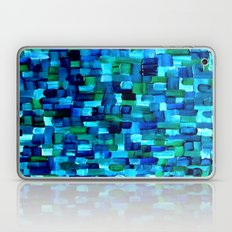 Abstract Tiles Of Blue A… Laptop & iPad Skin