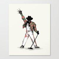 Scream Queen Canvas Print