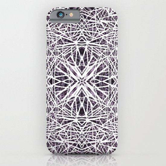 Black and white iPhone & iPod Case