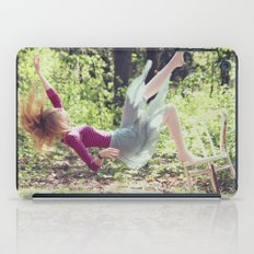 This skirt was made for falling iPad Case