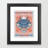 Hunting Club: Lagiacrus Framed Art Print