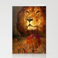 The Lion House - for iphone Stationery Cards