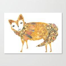 Mr fancy fox Canvas Print