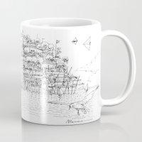 La Citta' sul mare Mug