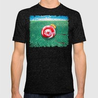 New Year Ball Mens Fitted Tee Tri-Black SMALL