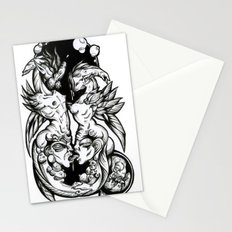 Sea-Horses Stationery Cards