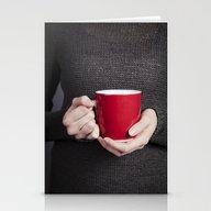 Red Mug Stationery Cards