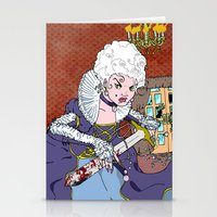 Jeannette-Marie, Zombie Slayer of Marseille Stationery Cards