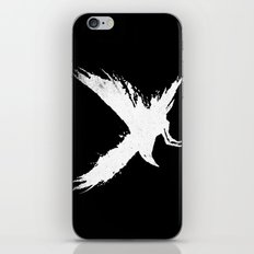 The Raven (Black Version) iPhone & iPod Skin