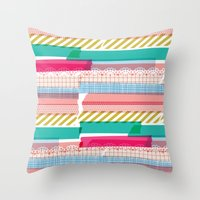 Washi Throw Pillow