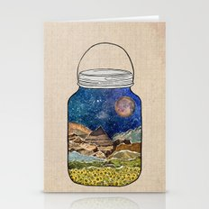 Star Jar Stationery Cards