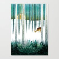 Last Morning (complete?) Canvas Print