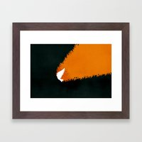 Tongues Of Fire (by Bria… Framed Art Print