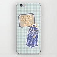Think Inside The Box iPhone & iPod Skin