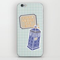 Think Inside The Box iPhone & iPod Skin