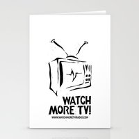 Watch More TV Radio Stationery Cards