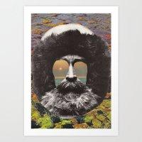 Paradise Man Art Print