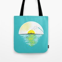 Morning Sounds Tote Bag