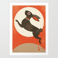 The Witch Hare (Fairy An… Art Print